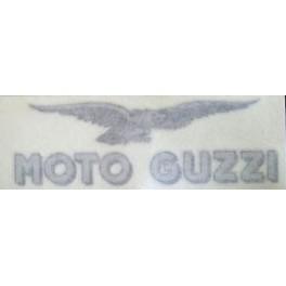 Autocollant Petit Modèle Tête de Fourche Argent - Noir  1100 Sport