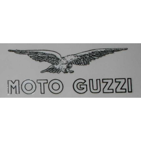 planche 5 autocollants moto guzzi aigle blanc moto guzzi autpl002 en vente chez moto bel 39. Black Bedroom Furniture Sets. Home Design Ideas