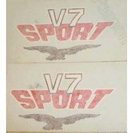 Autocollant boite latérale V7sport  La Paire