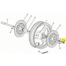 Ecrou Axe Roue avec rondelle