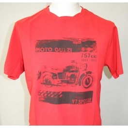 Tee-shirt One Shot Homme Rouge