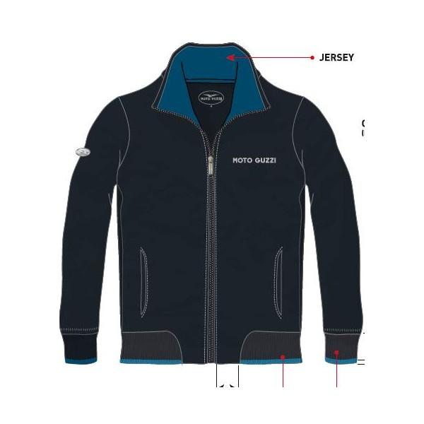 sweat shirt original homme gris fonc moto guzzi 605795m0 2 en vente chez moto bel 39. Black Bedroom Furniture Sets. Home Design Ideas