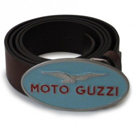 Ceinture Cuir Boucle Ovale Bleue Moto Guzzi 605862M0BO en vente chez ... 84dfd880c30