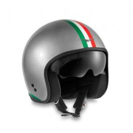 casque italia pride chrom moto guzzi 606073m0 ip en vente chez moto bel 39. Black Bedroom Furniture Sets. Home Design Ideas
