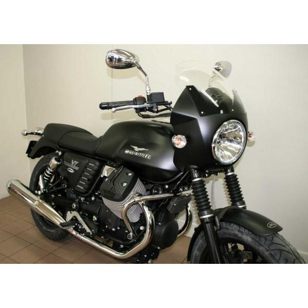 t te de fourche v7 v7 ii peint moto guzzi carte034 en vente chez moto bel 39. Black Bedroom Furniture Sets. Home Design Ideas