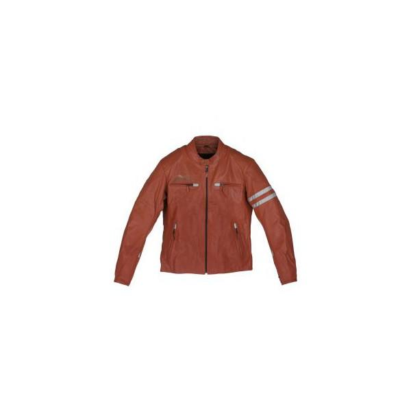 veste en cuir moto guzzi homme rouge 606092m00r. Black Bedroom Furniture Sets. Home Design Ideas
