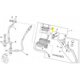 Bouchon et Membrane Bocal Maitre-cylindre Embrayage