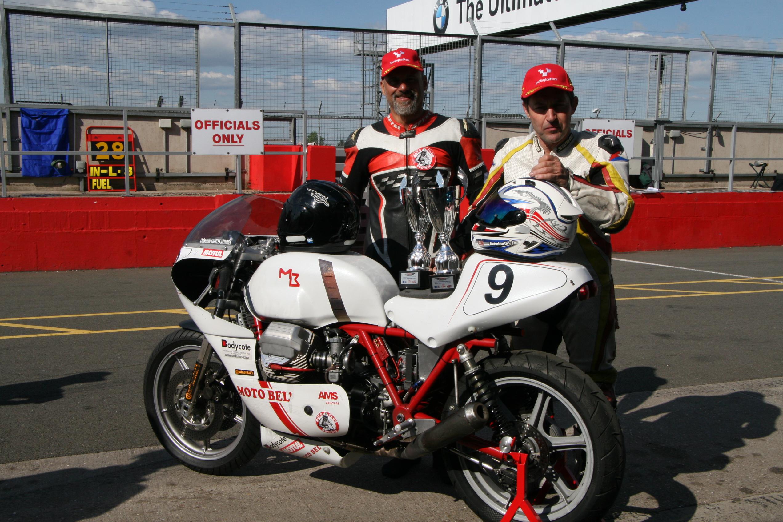 championnat européen endurance classic donington 2018 pilotes