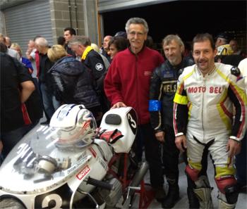 Arrivée Spa 2014 Moto Bel'