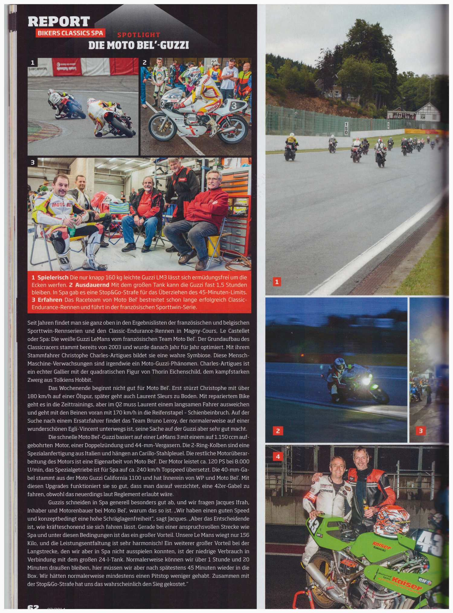 Article Fast Bike sur Team Moto Bel'