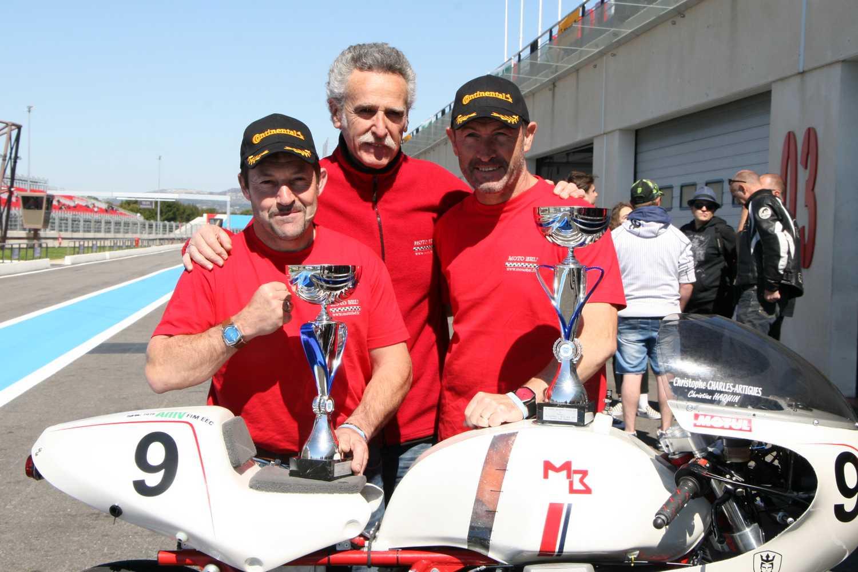 LE CASTELLET 2019 MOTOBEL Vainqueur Catégorie Classic