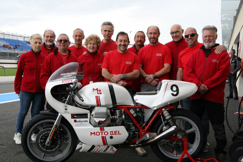 le castellet EELC 2019 Team MOTOBEL