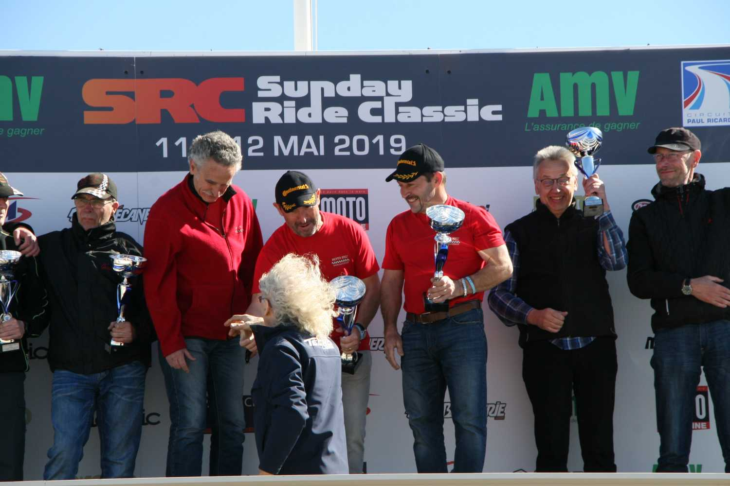 le castellet 2019 remise coupe 1er classic par Guy Coulon
