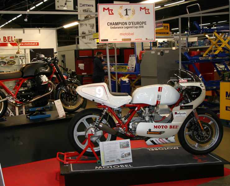 Salon Moto Legend 2018 Stand MOTOBEL