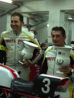 MotoBel Imola 2012 Christophe et Laurent