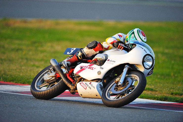 Christophe Charles Artigues Moto Bel' Bol d'Or Classic 2010