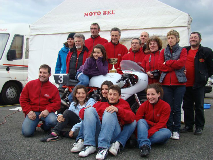 Team Moto Bel' Bol d'Or Classic 2010