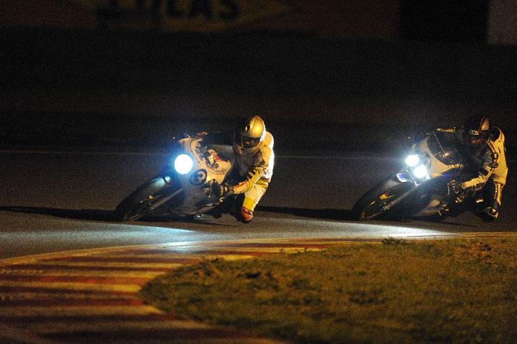 Laurent Sleurs Moto Bel' Bol d'Or Classic 2010