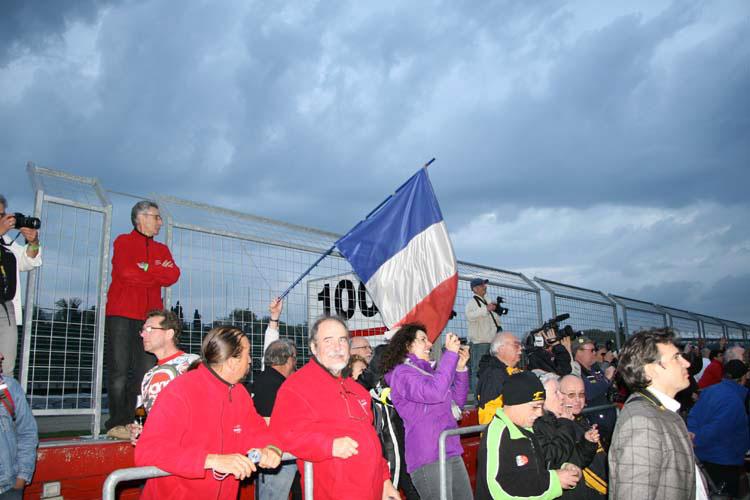 Podium Imola 2013, pilotes Moto Bel' vainqueurs
