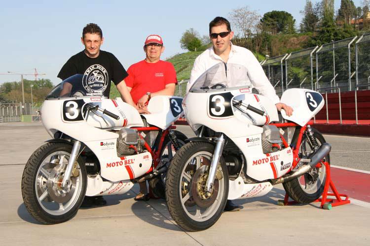 Présentation Moto Bel' 2013, avec Pilotes et François