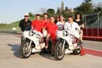 Présentation Moto Bel' 2013, une partie de l'équipe