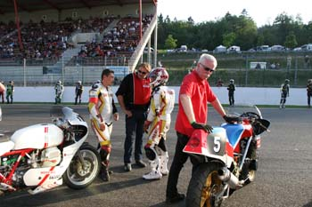 Départ course Spa 2013