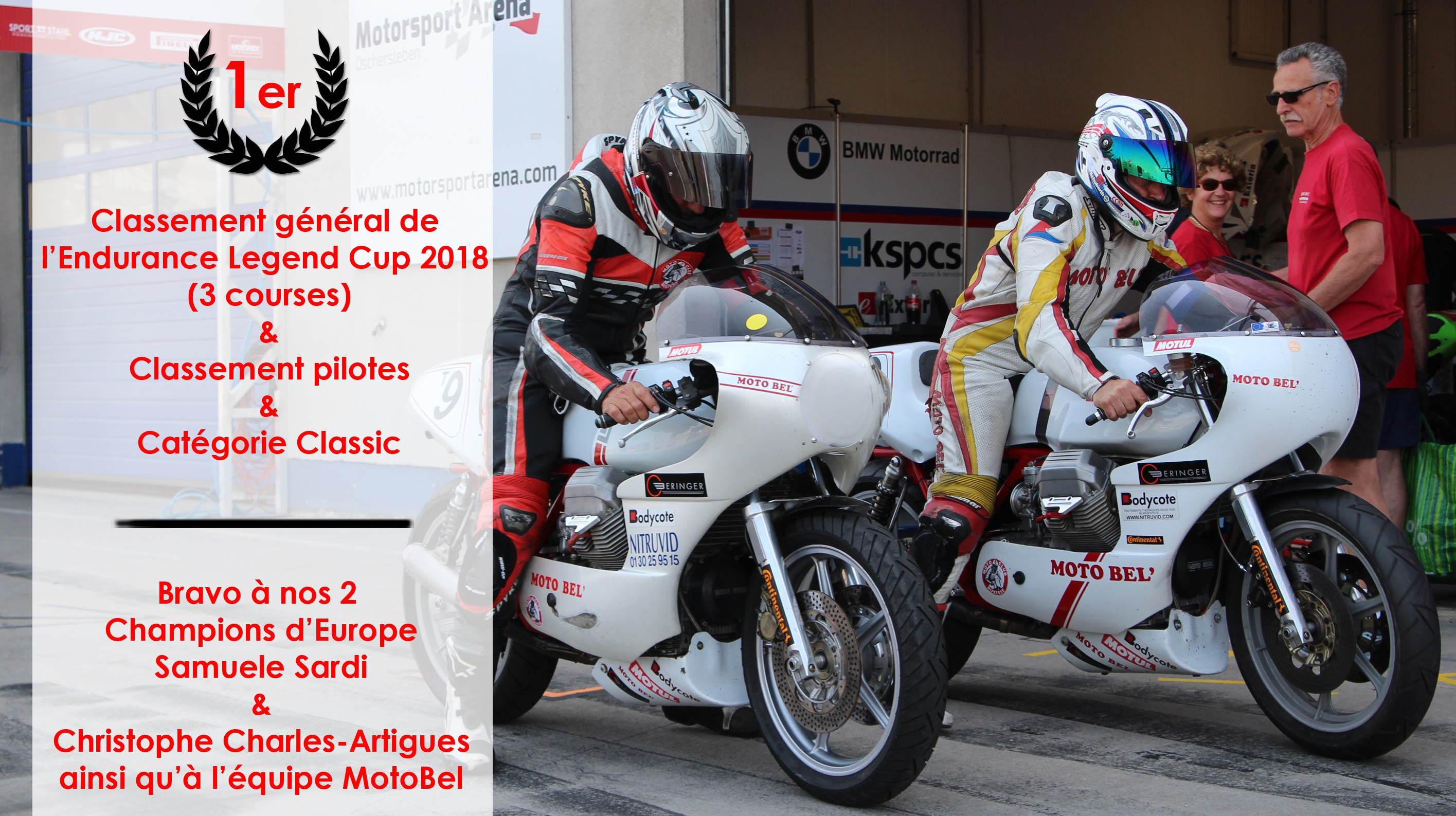 1er European Endurance Legend Cup 2018